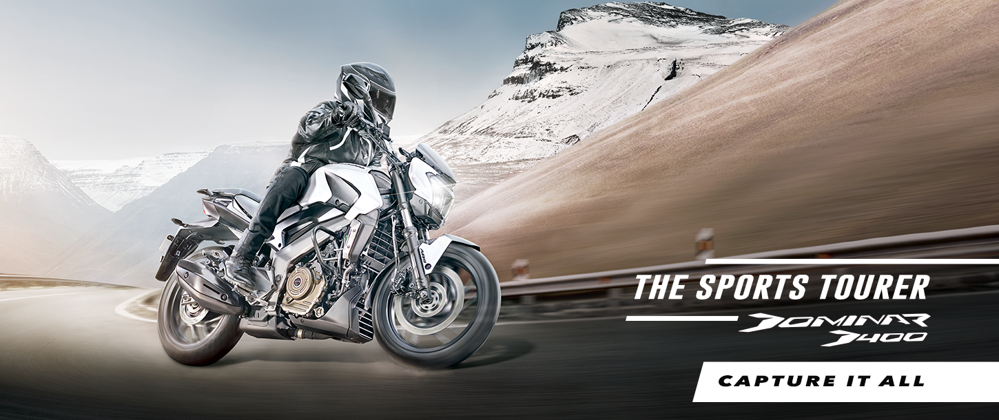 The Sports Tourer Dominar 400. Capture It All