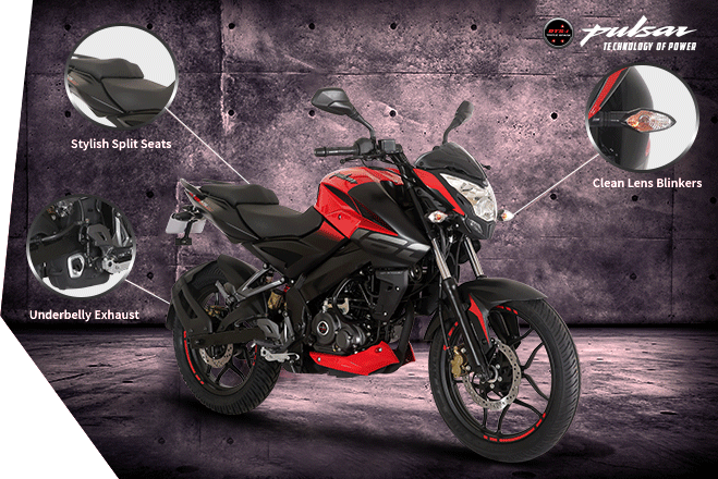 pulsar 160 style feature
